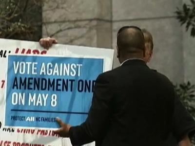 North Carolina Voters Ban Gay Marriage