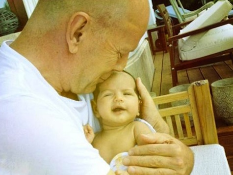 Bruce Willis Welcomes New Baby