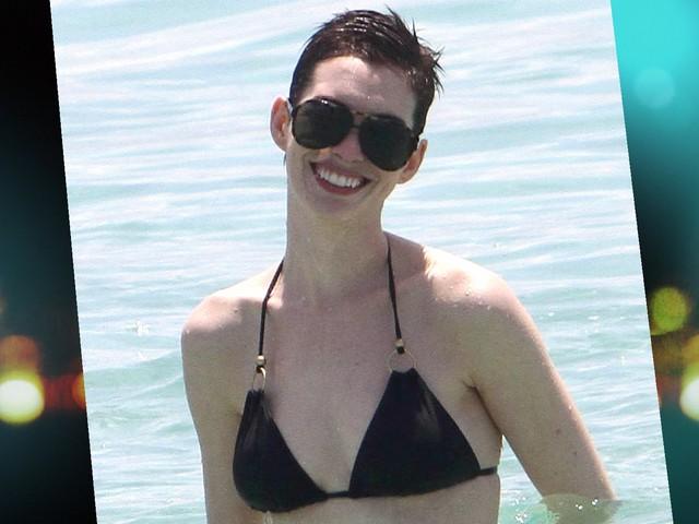 Anne Hathaway's Hot Bikini Bod