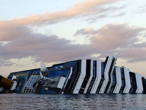 Plan In Place For Salvaging Costa Concordia