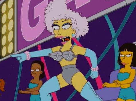 Lady Gaga Turns Into A Simpson
