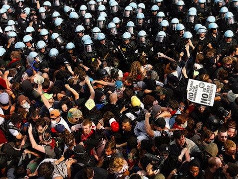 Report: 90 Arrested In NATO Protests
