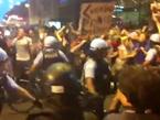 Breaking: NATO Protesters Surround Riot Police