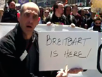'Breitbart Is Here' At Occupy NATO Protests