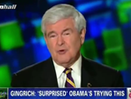 Newt: Bain Attacks Didn't Work For Me, Won't Work For Obama