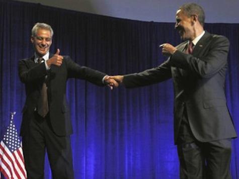 Obama Praises Rahm For NATO Success, Acknowledges Protesters