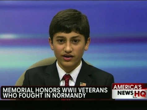 Pre-Teen Raises Money To Build Normandy Memorial For World War II Veterans