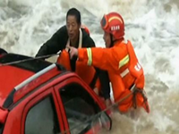 Man Rescued From River In China