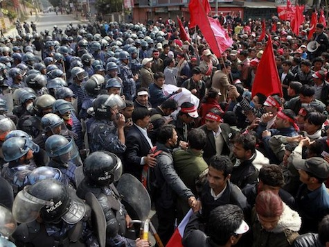 Violence Erupts As Nepal Fails To Pass New Constitution