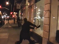 MUST WATCH: On The Ground Footage Of 'Black Bloc'