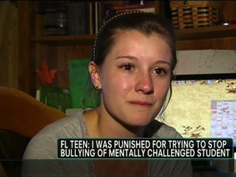 Student Punished For Trying To Defend Mentally-Challenged Girl From Bullies