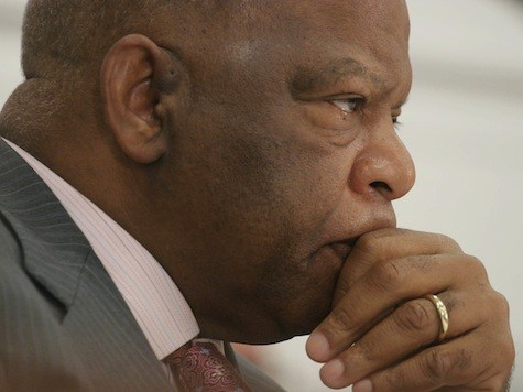 John Lewis Doubles Down On Tea Party Racial Epithet Myth