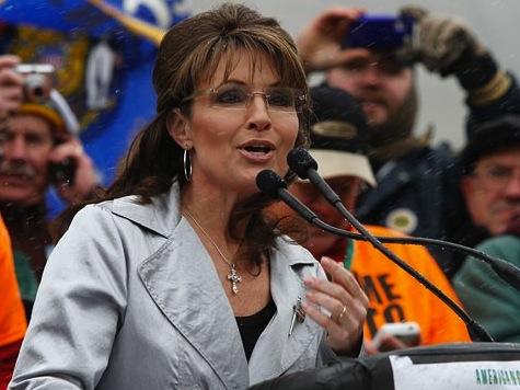 Flashback: Sarah Palin From WI 'We're Here, We're Clear, Get Used To It'