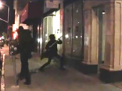 Anarchists Post Video of Themselves Destroying SF Neighborhood