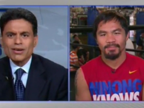 CNN To Boxing Champ Pacquiao: Is It Wrong For You To Make Millions While People Are Starving In Your Country?