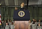President Obama Speaks To Troops In Afghanistan