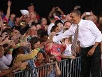 Obama: Romney Gave Iowans 'Cowpie of Distortion'