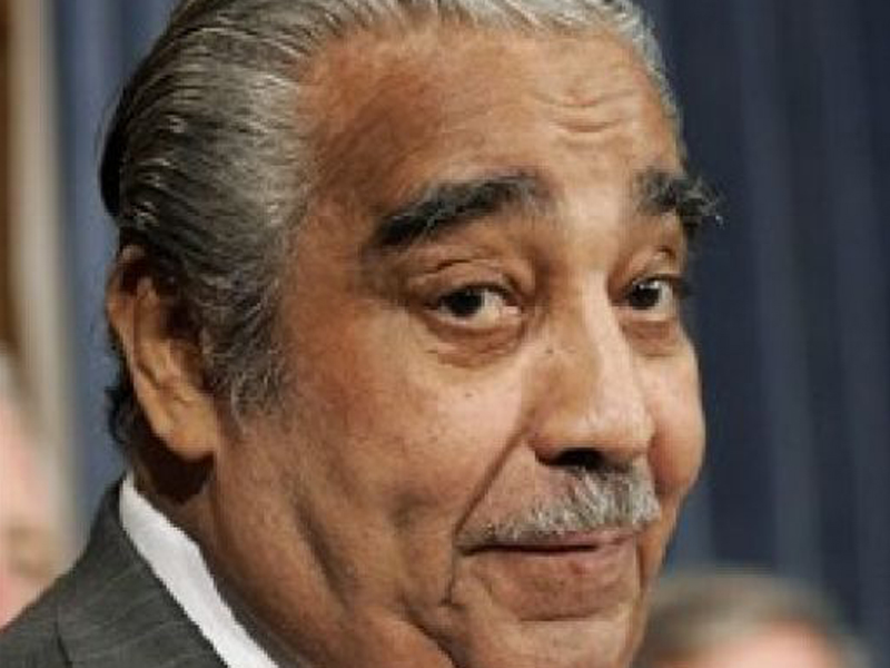 Rangel: Obama Didn't 'Hug And Kiss Me Like I Wish He Would'