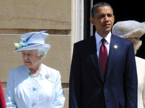 Obama congratulates Queen Elizabeth on jubilee