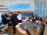 Panelist Begins Beating Woman During On Air Argument