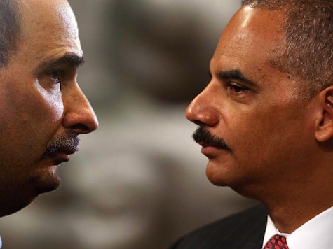 Holder: 'David Axelrod And I Are Good Friends'