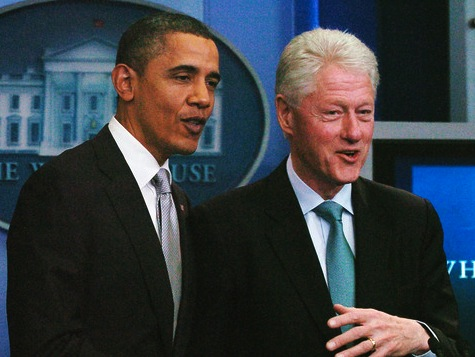 Poll: Clinton Trusted On Economy Over Obama By 2 to 1