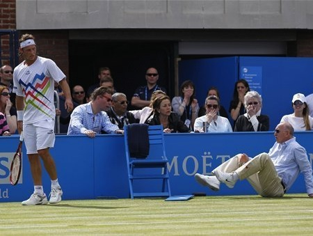 Tennis Player Kicks Judge, Faces Assault Investigation