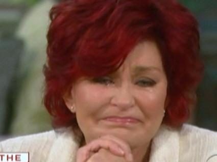 Sharon Osbourne Sobs Over Son's Illness