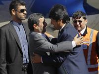 Ahmadinejad Arrives In Bolivia