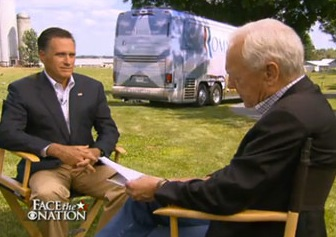Romney On 'Face The Nation'