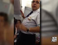 Flight Attendant Berates Passengers: Leave Plane 'If You Have Balls'