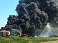 Three Missing After Oklahoma Train Wreck