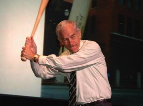 Ron Paul inducted into congressional baseball hall of fame