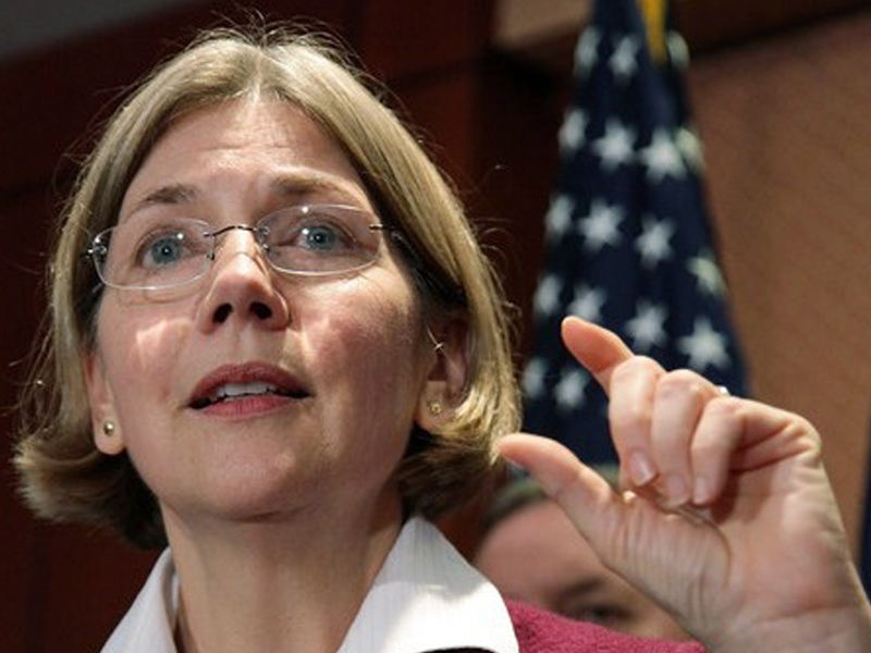 Warren Mocks Mitt: 'No, Mitt, Corporations Are Not People'