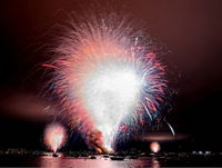 San Diego Sets Off 20 Minutes Of Fireworks At Once