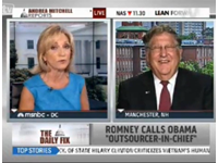 Romney Surrogate Sununu Laughs In Andrea Mitchell's Face As She Defends Obama Campaign Lies
