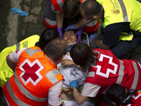 Six Injured In Spain's 'Running Of The Bulls'