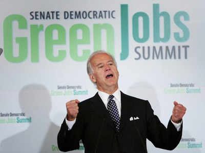 Before Solyndra: Biden Endorsed Another 'Green Jobs' Stimulus Failure, Serious Energy
