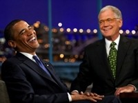 Letterman: Romney Promising 'He'll Put Anderson Cooper Back in the Closet'