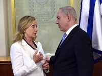 Netanyahu, Clinton Meet Over Iran