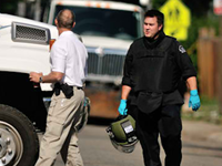 Bomb Squad Detonates Explosives in Holmes' Apt