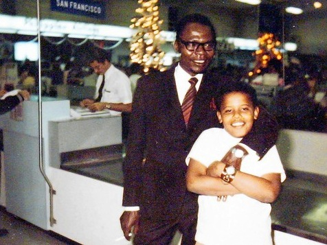 Barack Obama Sr: 'Nothing Stopping Gov't From Taxing 100% Of Income'