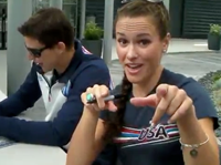 US Olympic Swim Team 'Call Me Maybe'