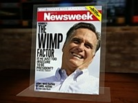 CBS/Newsweek Slam Romney with the 'Wimp Factor'