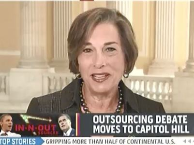 Wife Of Convicted Tax-Cheat Schakowsky Talks Romney 1040s on Bashir
