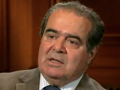 Scalia on Ruling in Bush v. Gore: 'Get Over It'