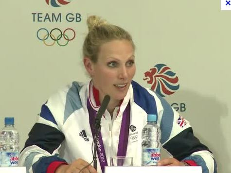 Queen's granddaughter takes silver in London
