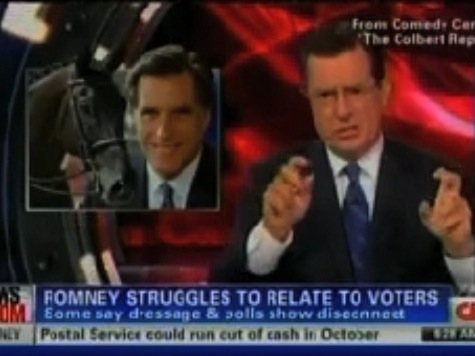 CNN Uses Colbert To Attack Romney