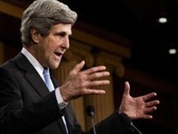 Kerry: 'Climate Change' As Much Of A Threat As Iran's Nukes
