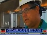 CNN Features Long-Time Unemployed Worker Voting For Obama